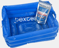Buy the portable footbath and receive FREE 200g sachet of Bexters Soda Crystals (usual price £4.99).